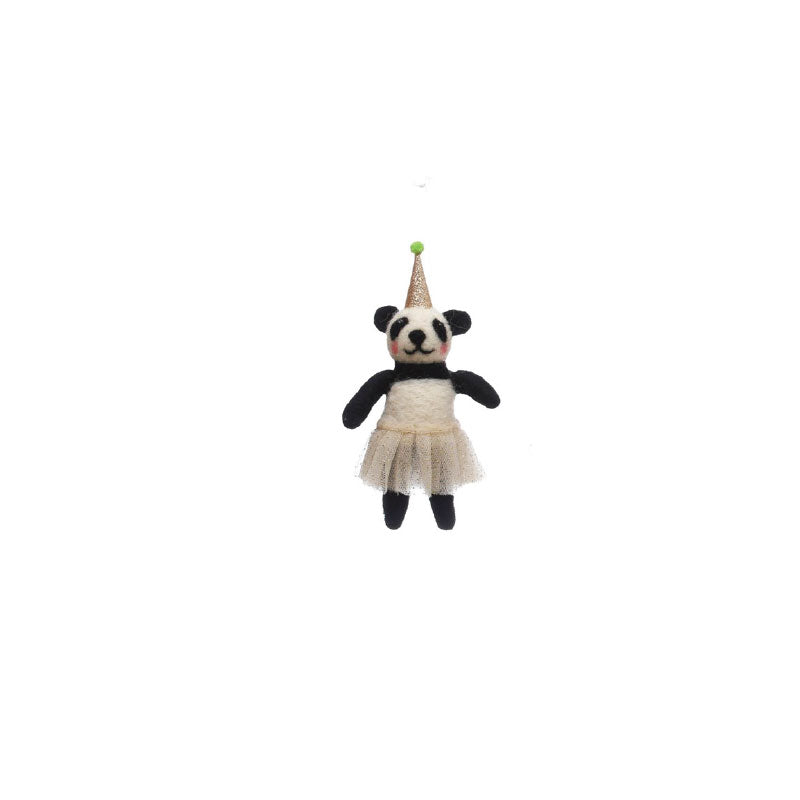 Party Hat Animal Ornament - Bungalow 56