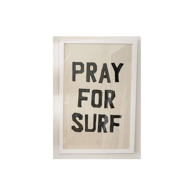 Pray for Surf Print - Bungalow 56