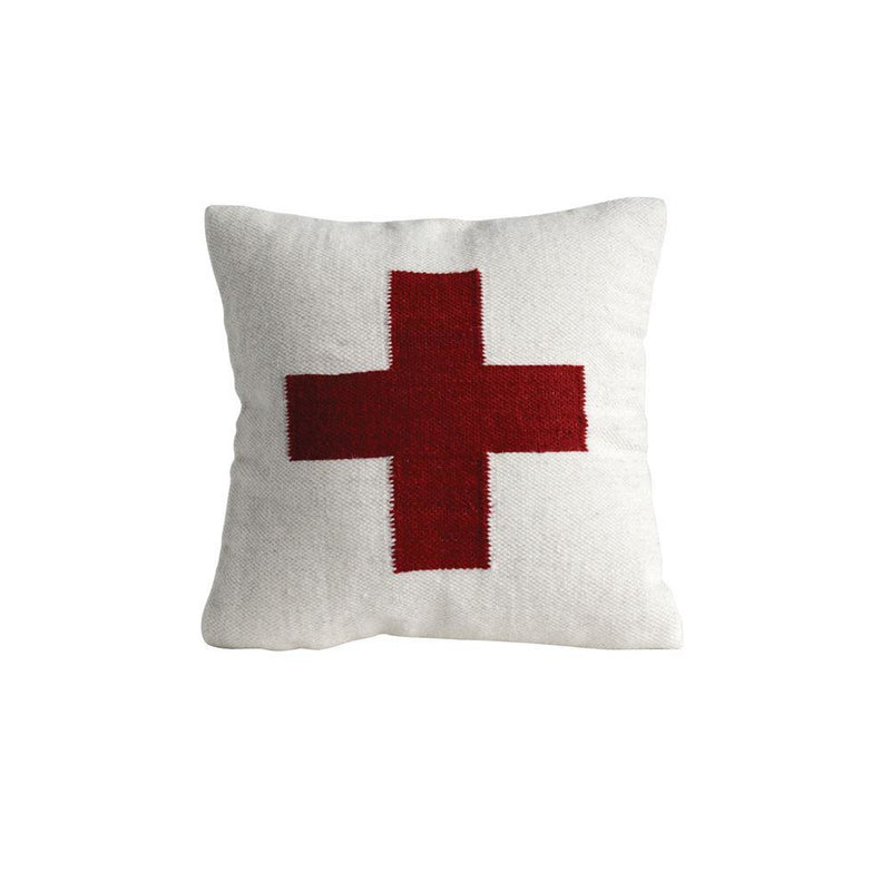 RED CROSS PILLOW - Bungalow 56 Living