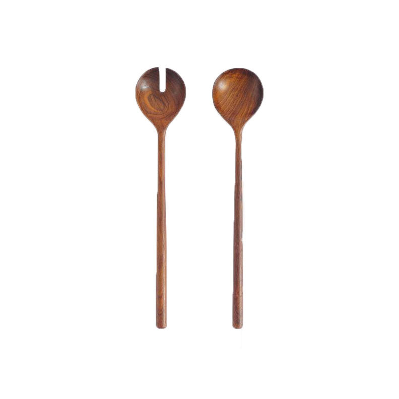 ROSEWOOD SALAD SERVERS - Bungalow 56 Living
