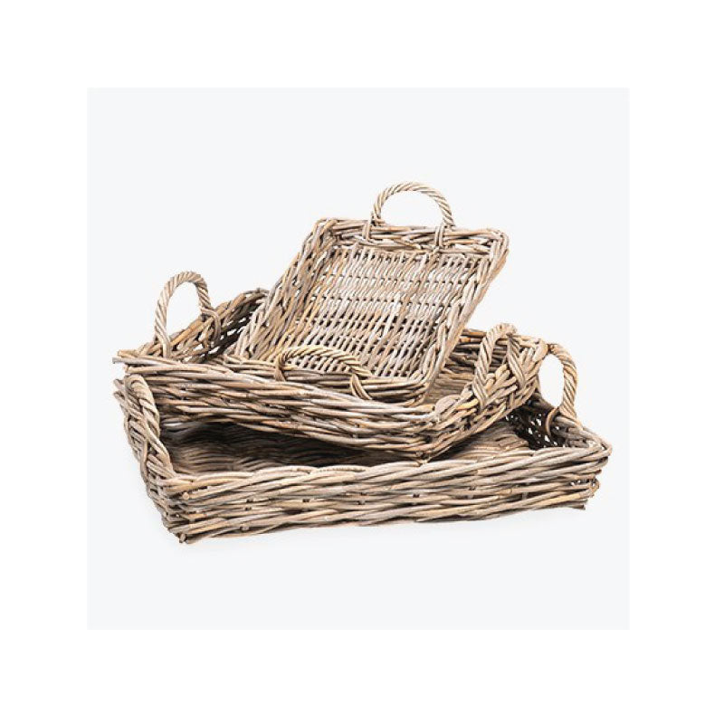 Rattan Trays - Bungalow 56