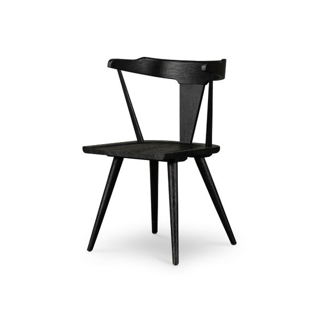 Riley Dining Chair Black - Bungalow 56