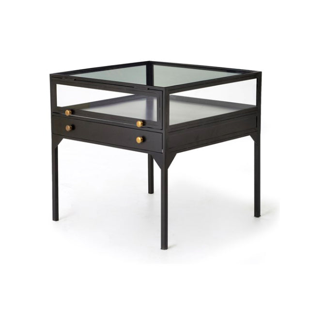 Shadow Box End Table - Bungalow 56 Living
