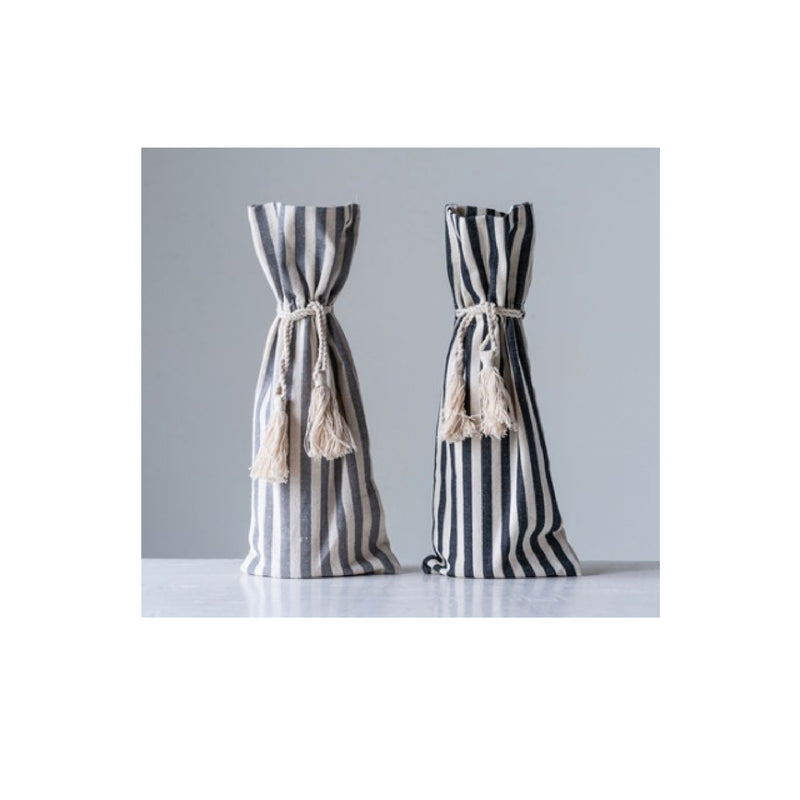 Striped Wine Bag - Bungalow 56