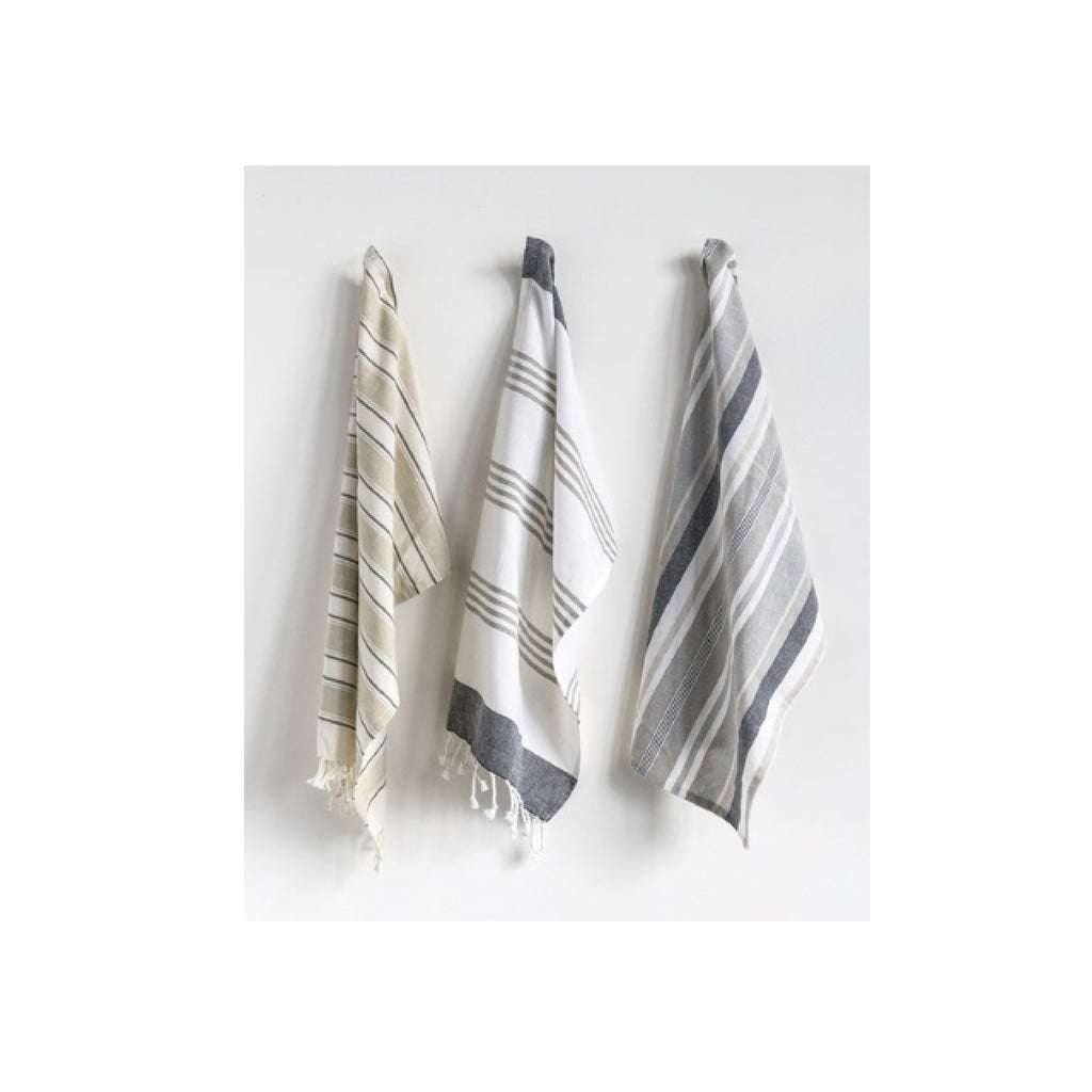 Striped Tea Towel Set - Bungalow 56 Living