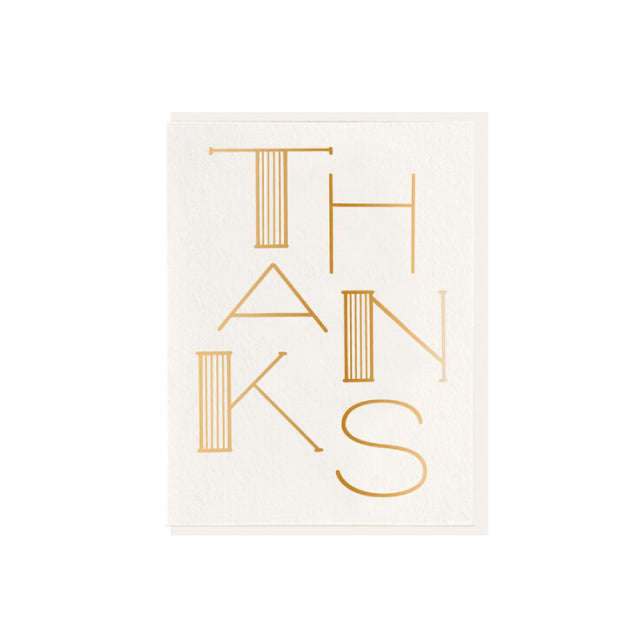Thanks Card - Bungalow 56