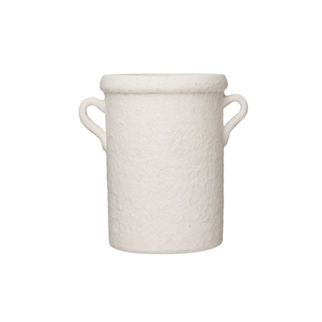 White Crock with Handles - Bungalow 56