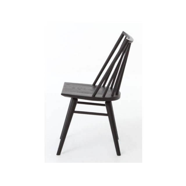 Windsor Dining Chair Black - Bungalow 56 Living