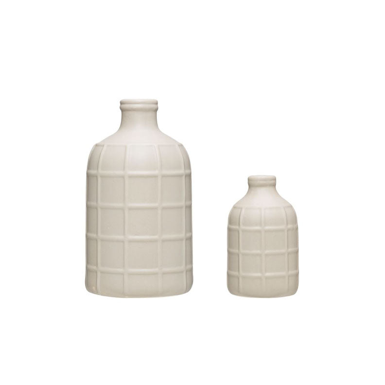 STONEWARE BOTTLE - Bungalow 56 Living