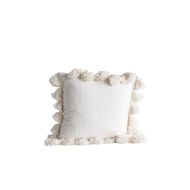 CREAM COTTON PILLOW - Bungalow 56 Living