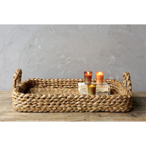 Bankuan Braided Tray - Bungalow 56 Living