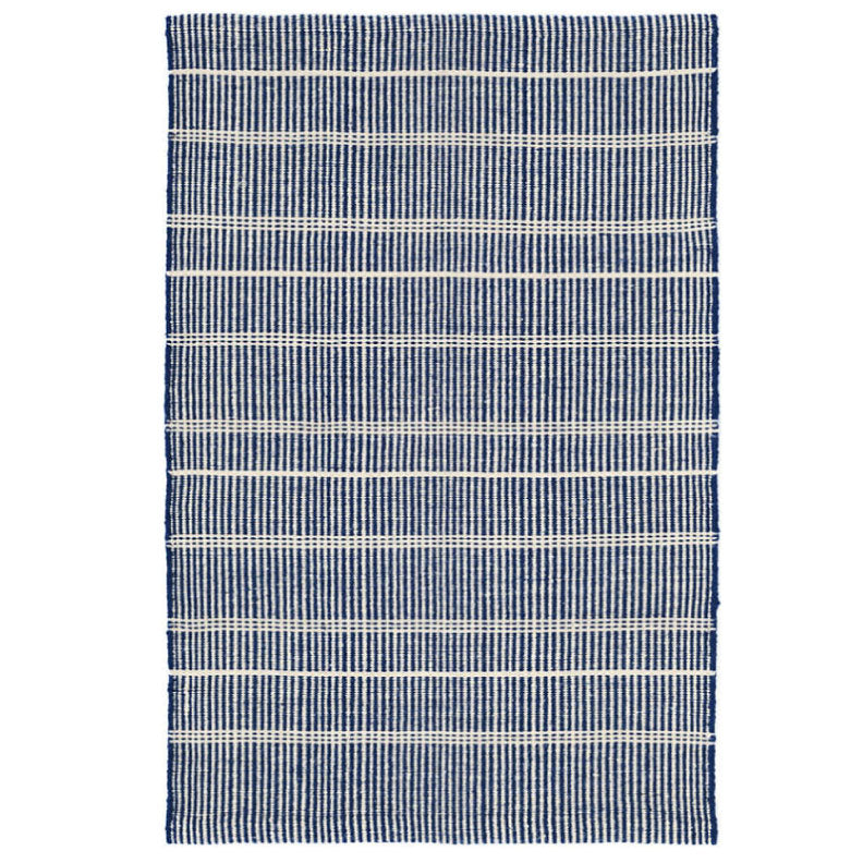 NAVY INDOOR/OUTDOOR RUG 2 - Bungalow 56 Living