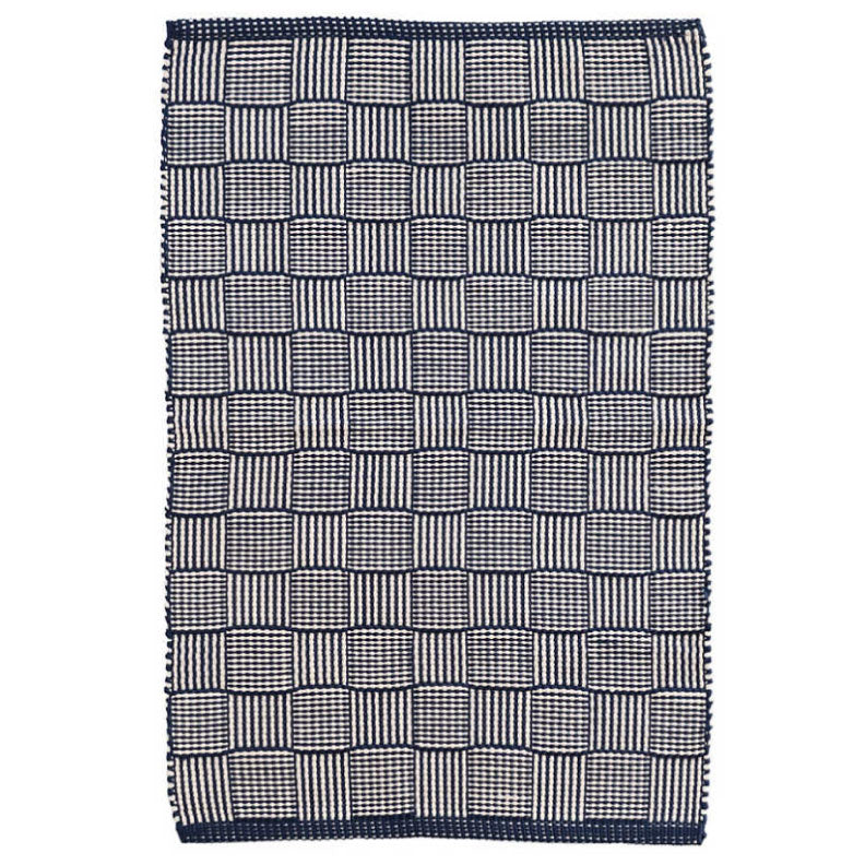 NAVY INDOOR/OUTDOOR RUG - Bungalow 56 Living
