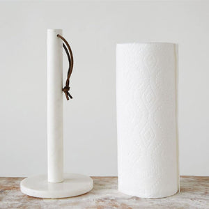 MARBLE PAPER TOWEL HOLDER - Bungalow 56 Living