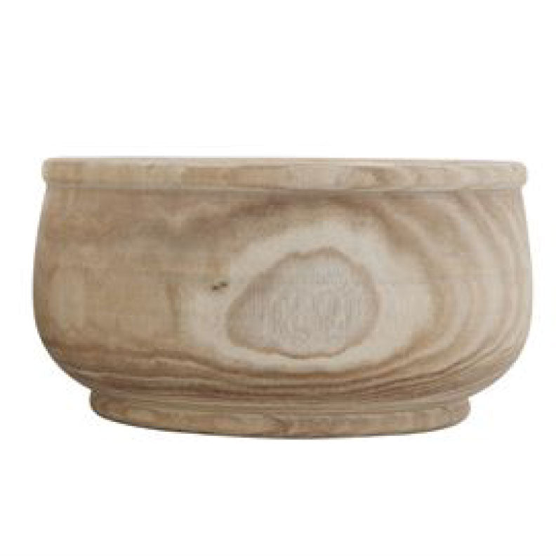 PAULOWNIA WOOD PLANTER - Bungalow 56 Living