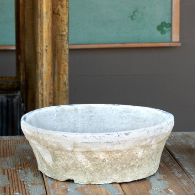WHITEWASHED PLANTER 10