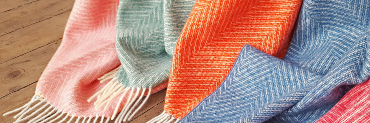 Pure New Wool British Made Blankets