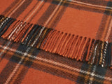 Tartan Pure New Wool Knee Rug - Antique Royal Stewart