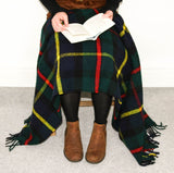 Tartan Pure New Wool Blanket - Hunting Macleod