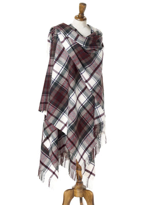 Tartan Lambswool Shawl - Dress Macduff