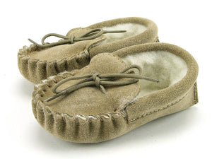 Baby Lambswool Lined Moccasins