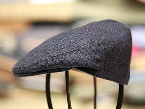 Garforth Tweed Flat Cap - Ribble Blue