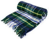 Tartan Pure New Wool Blanket - Dress Gordon