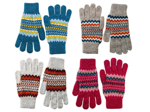 Ladies Craigtoun Fair Isle Lambswool Gloves