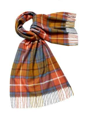 Tartan Lambswool Scarf - Antique Buchanan