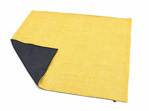 Honeycomb Waterproof Eventer Picnic Blanket  - Yellow