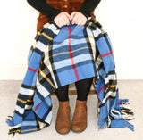 Tartan Pure New Wool Blanket - Dress Thompson
