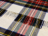 Tartan Lambswool Shawl - Dress Stewart