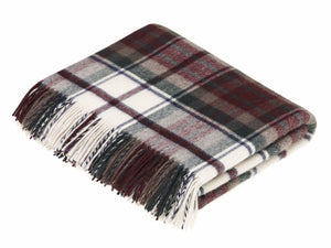 Tartan Merino Lambswool Blanket - Dress Macduff