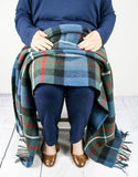 Tartan Pure New Wool Blanket - Ferguson