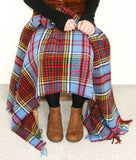 Tartan Pure New Wool Blanket - Anderson