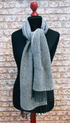 Yorkshire Wool Scarf - Tarn Dark Blue