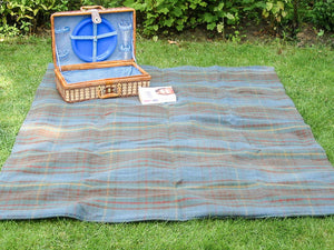 Tartan Waterproof Eventer Picnic Blanket - Antique Hunting Stewart