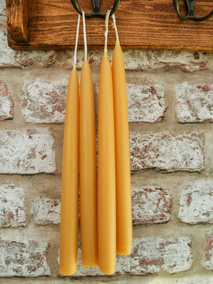 Beeswax Candles - Pairs