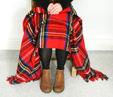 Tartan Pure New Wool Blanket - Royal Stewart