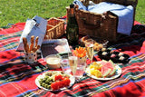 Tartan Waterproof Eventer Picnic Blanket - Royal Stewart