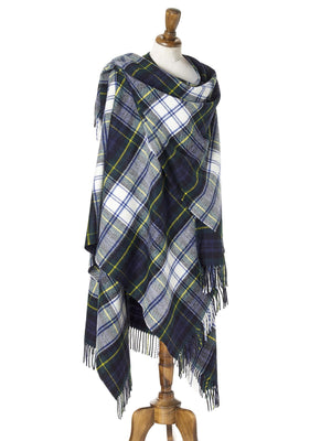 Tartan Lambswool Shawl - Dress Gordon