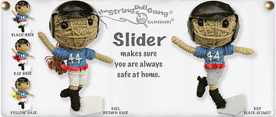 Kamibashi Slider Boy Baseball Player The Original String Doll Gang Keychain Clip
