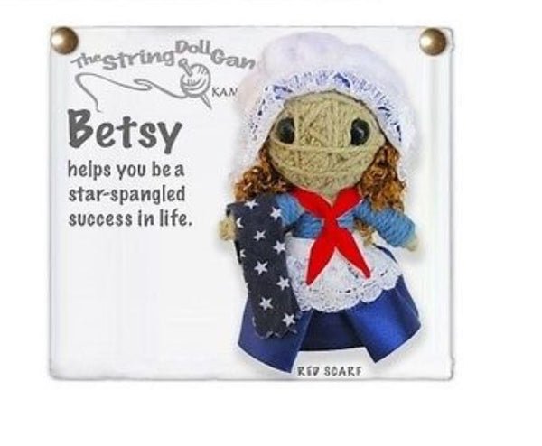 Kamibashi Betsy Ross The Original String Doll Gang Keychain Clip