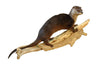 Otter Walking Professional Taxidermy Mounted Animal Statue Home or Office Gift