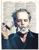 Art N Wordz Jack Nicholson Dictionary Page Pop Art Wall Desk Art Print Poster