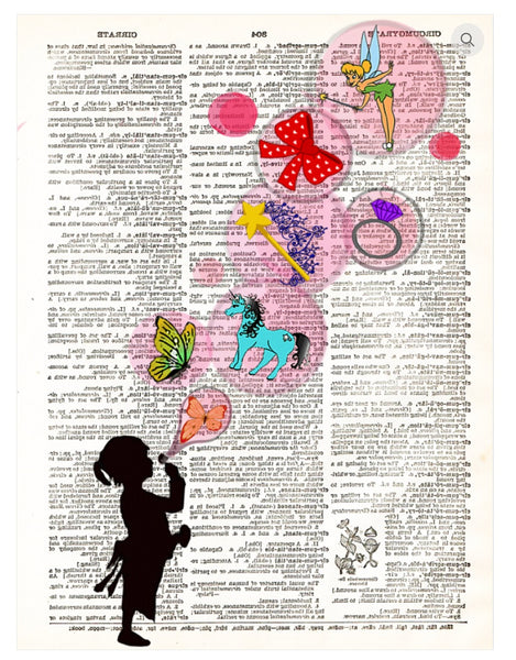 Art N Wordz Girls Vs Boys Dictionary Page Pop Art Wall or Desk Art Print Poster