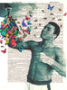Art N Wordz Muhammad Ali Float Like A Butterfly Sting Like A Bee Dictionary Page Print Pop Art Wall/Desk Poster
