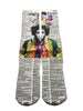 Artnwordz Apparel Jimi Hendrix Head Dictionary Pop Art Unisex Socks