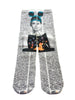 Artnwordz Apparel Forever Audrey Hepburn Wears Mickey Mouse Ears and Bambi Dictionary Pop Art Unisex Socks