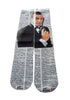 Art N Wordz Apparel James Bond Dictionary Pop Art Unisex Socks